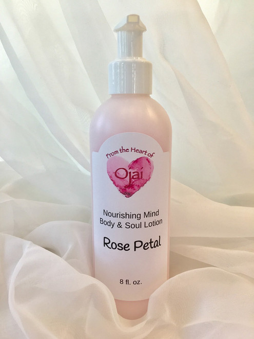 From The Heart Of Ojai Nourishing Hand Crafted Lotion 8oz.