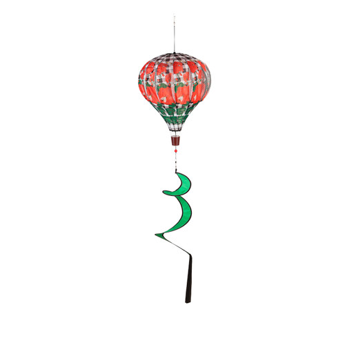 Geranium Plaid Balloon Spinner