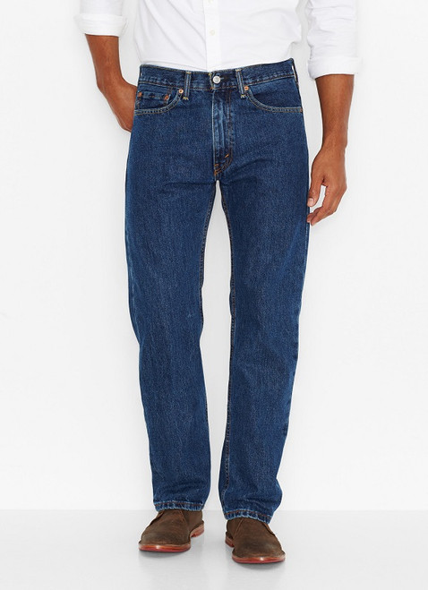 Men's Levi's 505-4886 Regular Fit Jeans-Dark Stonewash