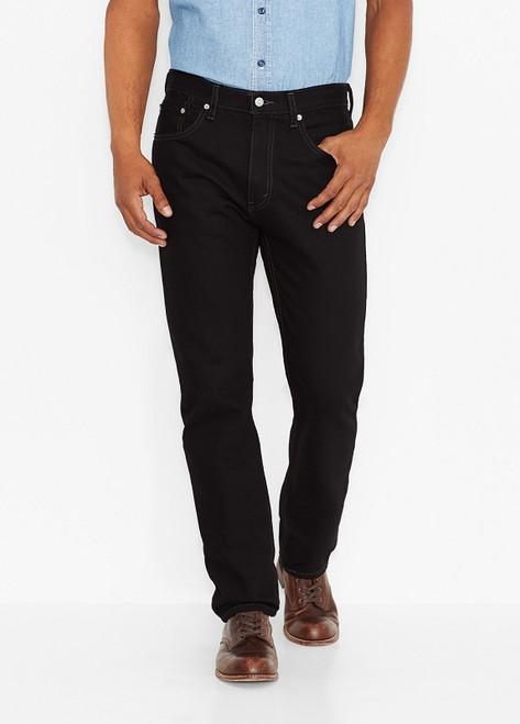 Men's Levi's 505-0260 Regular Fit Jeans-Black