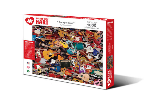 "Hart Puzzle ""Garage Band"""