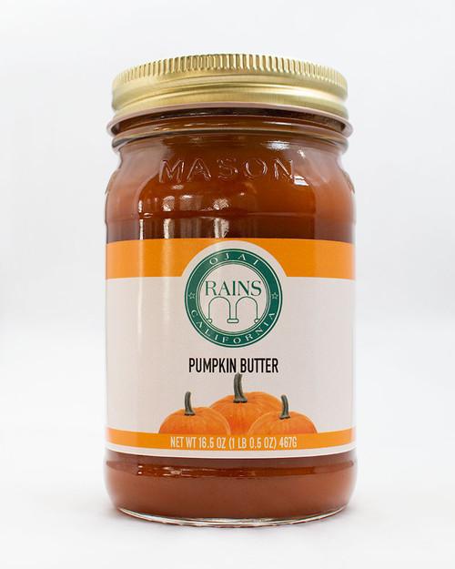 RAINS Pumpkin Butter