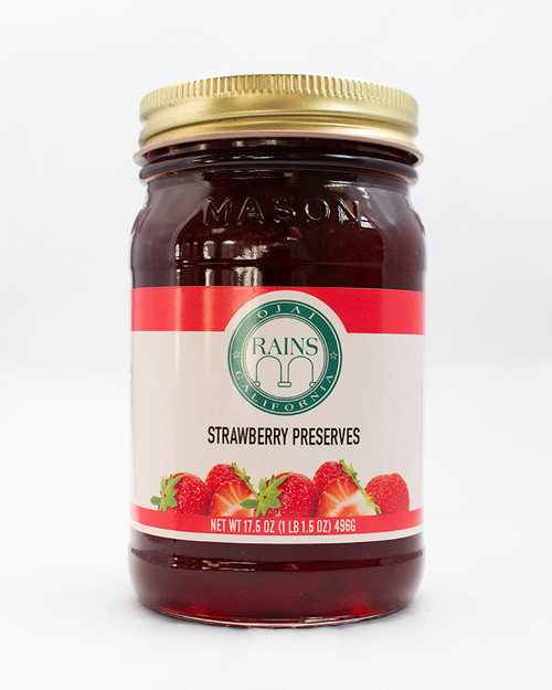 RAINS Strawberry Preserves
