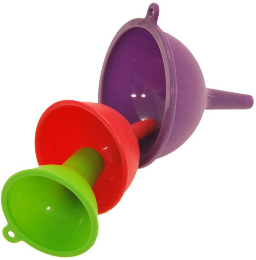 Gourmet By Starfrit 3-Piece Silicone Funnel Set