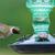 Perky-Pet Sea green antique bottle hummingbird feeder