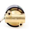 """Elektrisches Magnetventil- 1/4 """" Messing, 220 V AC, Normalerweise Geschlossen, VITON"""