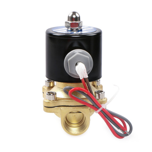 """Elektrisches Magnetventil- 1/2 """" Messing, 24 V AC, Normalerweise Geschlossen, VITON"""