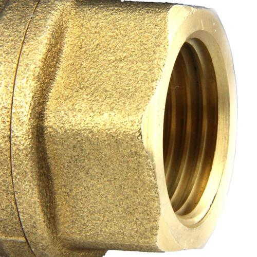 """Motorisierter Kugelhahn- (1/4"""", 1/2"""" oder 3/4"""") Messing, 220V AC (85-265 V AC) Elektrisches Kugelventil, 2-Draht-Auto-Rückkehr"""
