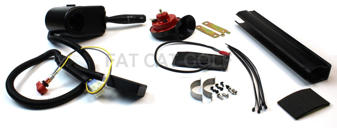 star golf cart wiring diagram ultimate light kit upgrade w turn signal  horn   brake pad for  ultimate light kit upgrade w turn
