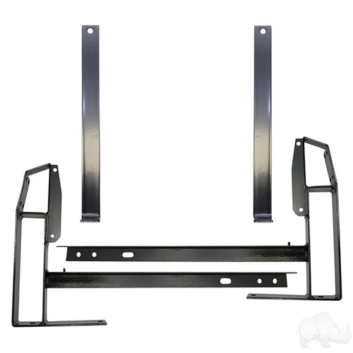 Utility Box Mounting Kit for EZGO TXT 1996 to Current Golf Carts
