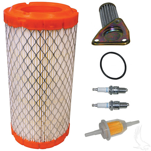 Tune Up Kit, E-Z-Go 295/350cc 4-cycle Gas 96+ w/ Oil Filter