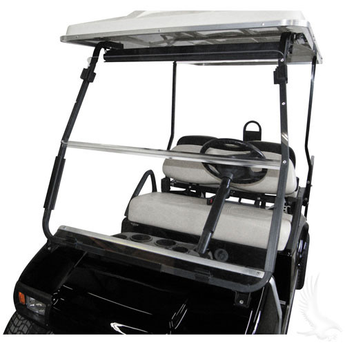 CLUB CAR DS+ CLEAR FCG WINDSHIELD