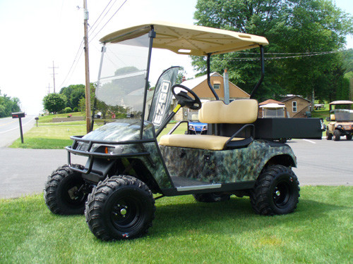 EZGO ST Sport 2+2 Tinted Fold Down Windshield