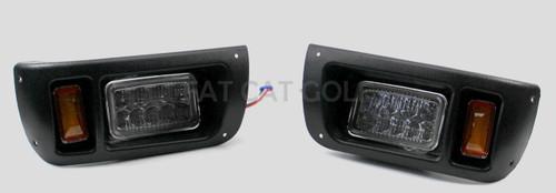 Club Car DS Golf Cart LED Light Kit w/Upgradable Harness