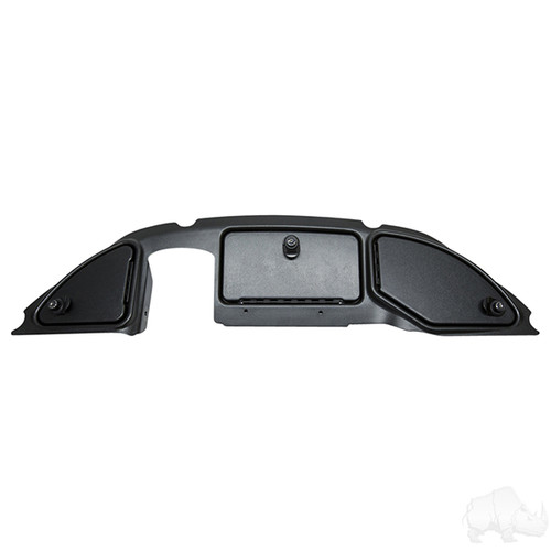 DASH Three Door, Black Textured, Club Car Precedent 08.5+