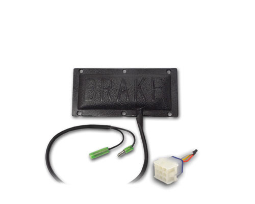 Brake light only kit (includes Brake pad and jumper works with all kits that have upgradable harness)