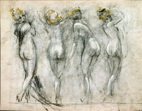 Backside Nudes by Louis Icart | LIP10101
