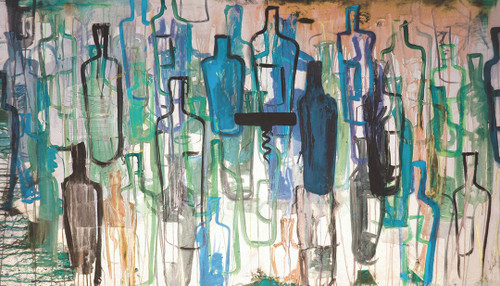Blue Bottles by Kent Youngstrom | KYA10129