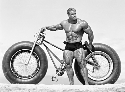 Big Man, Big Tires by Per Bernal