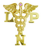Nursing pins LPN Licensed Practical Nurses.  This nursing pin is perfect graduation pinning ceremony gifts and awards.