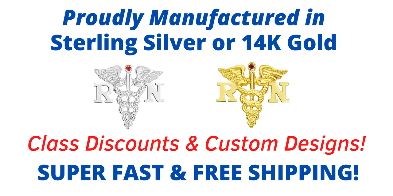 Quality Nurse Jewelry and Nursing Pins