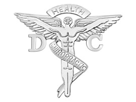 DC Doctor of Chiropractic Medicine Graduation  Pins, Charm & Necklace