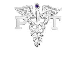 PT Physical Therapist Graduation Pins, Charm and Necklace