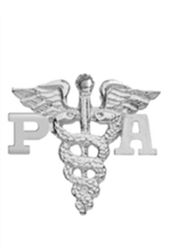 Physician Assistant PA pins graduation pinning ceremony awards and gifts.  These high quality jewelry PA pins are available in 14K or silver.