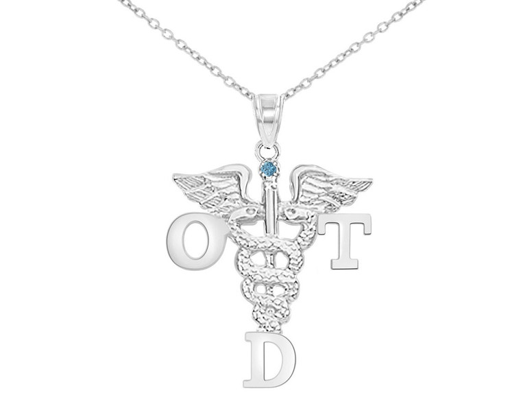 OTD Doctor of Occupational Therapy Graduation Necklace