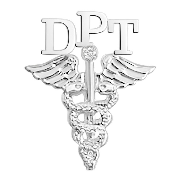 DPT Doctor of Physical Therapy Graduation Pins
