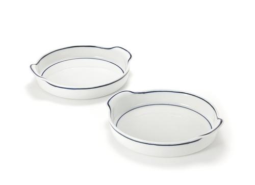 The Moon Jar Handmade Ceramics - Round Deep Plate with Handle