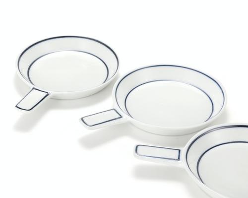 Handmade Ceramics Miniature Pan-shaped Side Dis