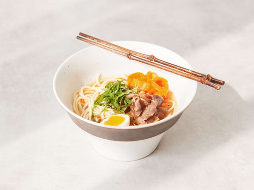Handmade Korean Ceramics Jeju Collection Noodle Bowl