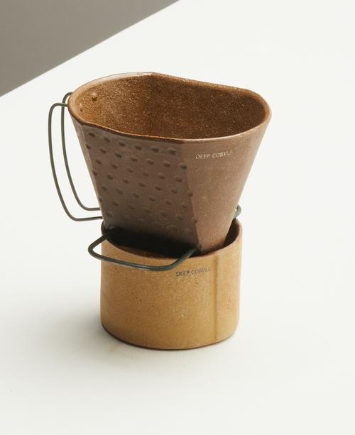 Vintage Coffee dripper by artist Hyun Sang Wha