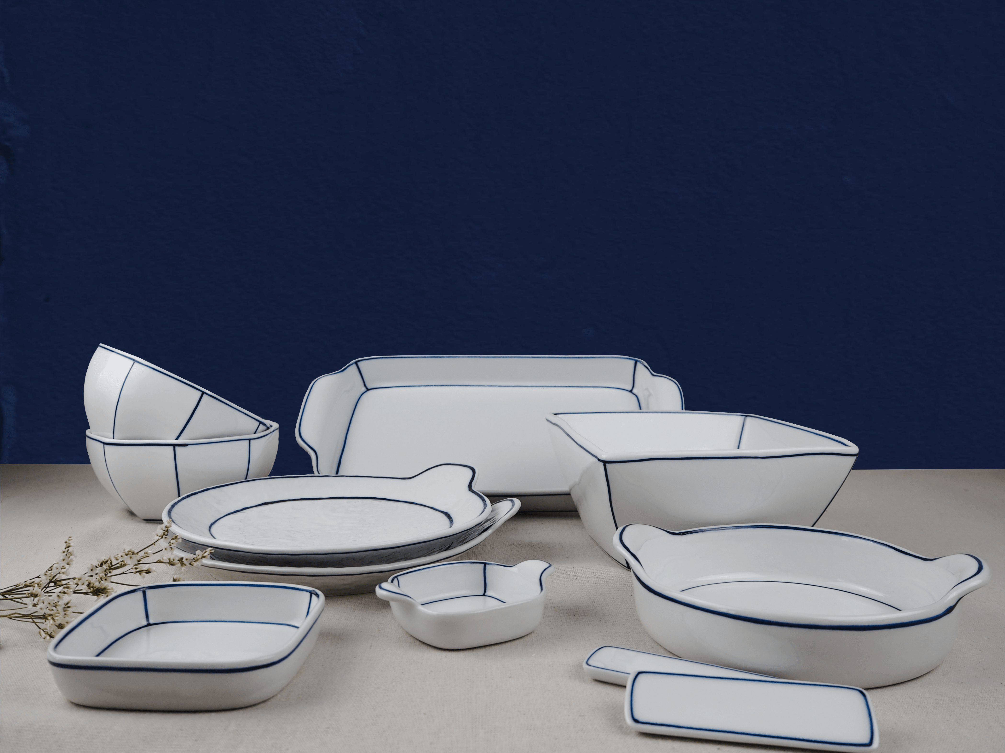 Unique handmade honeymoon diningware from Korea by Kim Seok Binn