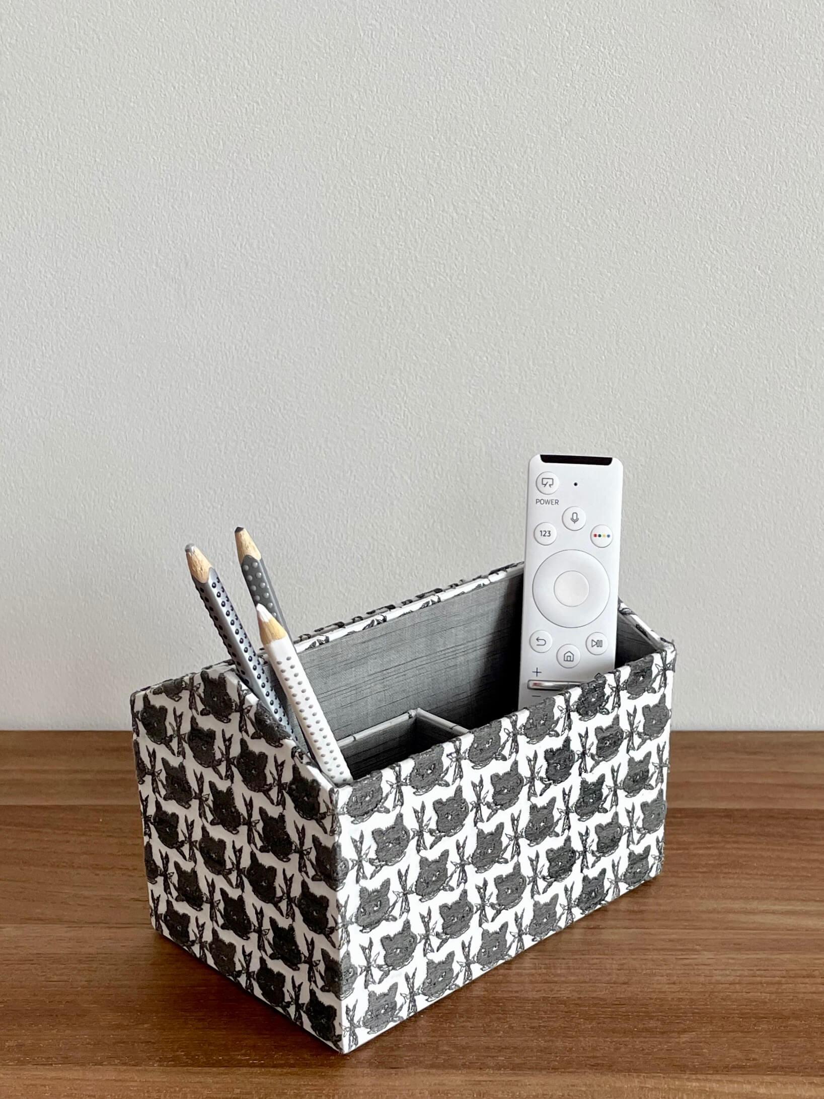 hacocco cartonnage desk organizer
