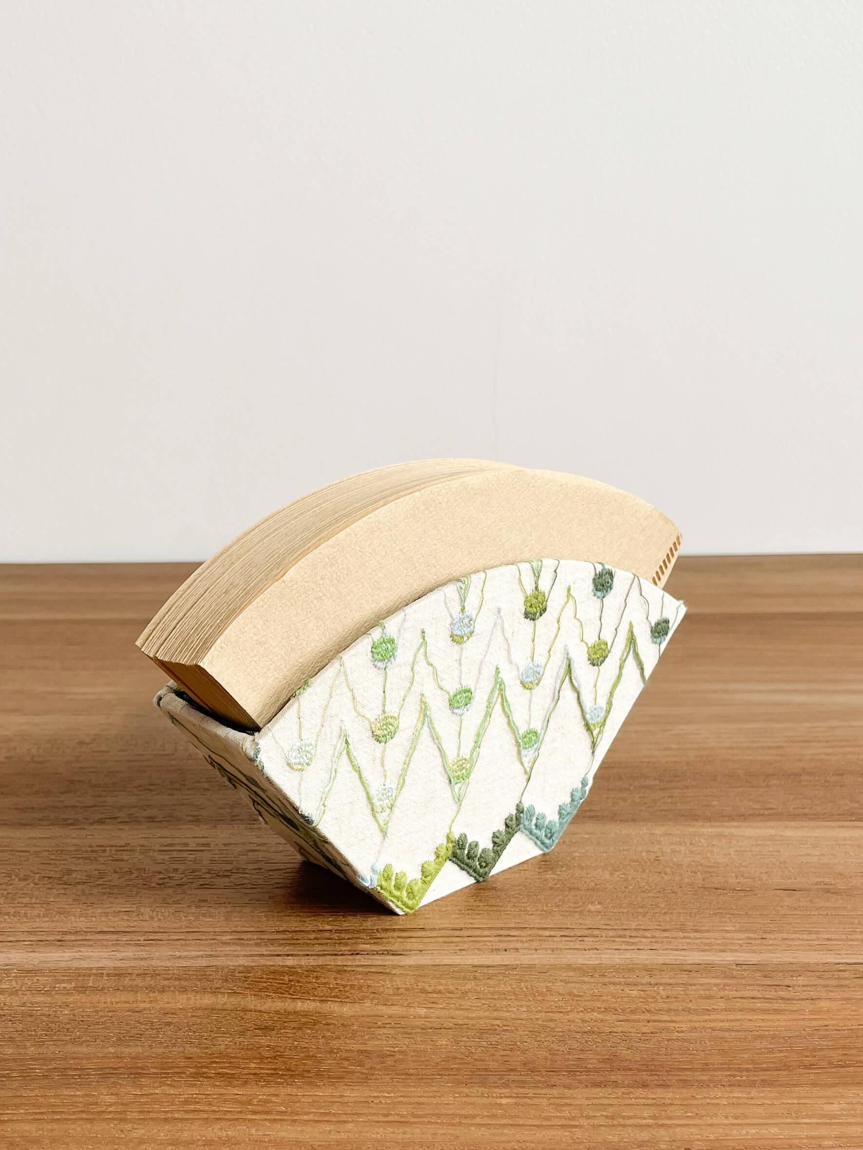 hacocco cartonnage coffee drip filter case