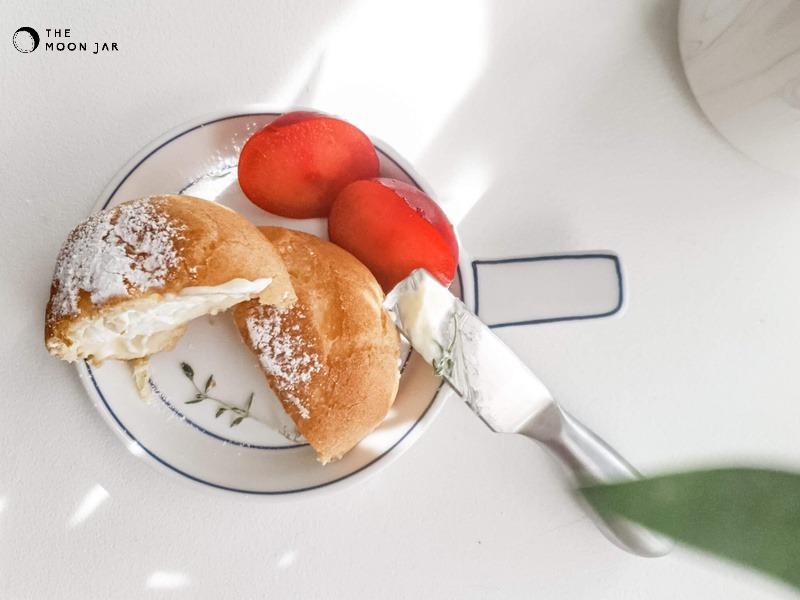 Handmade Ceramics Miniature Pan-shaped Side Dish