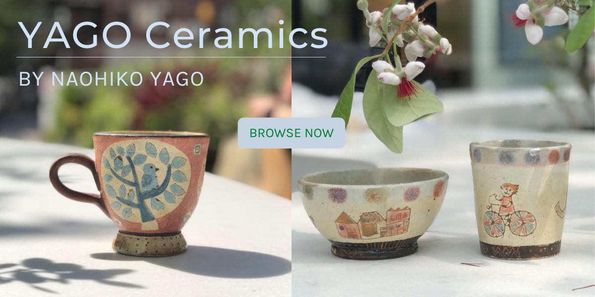 Yago Ceramics by Yang Naohiko Yago