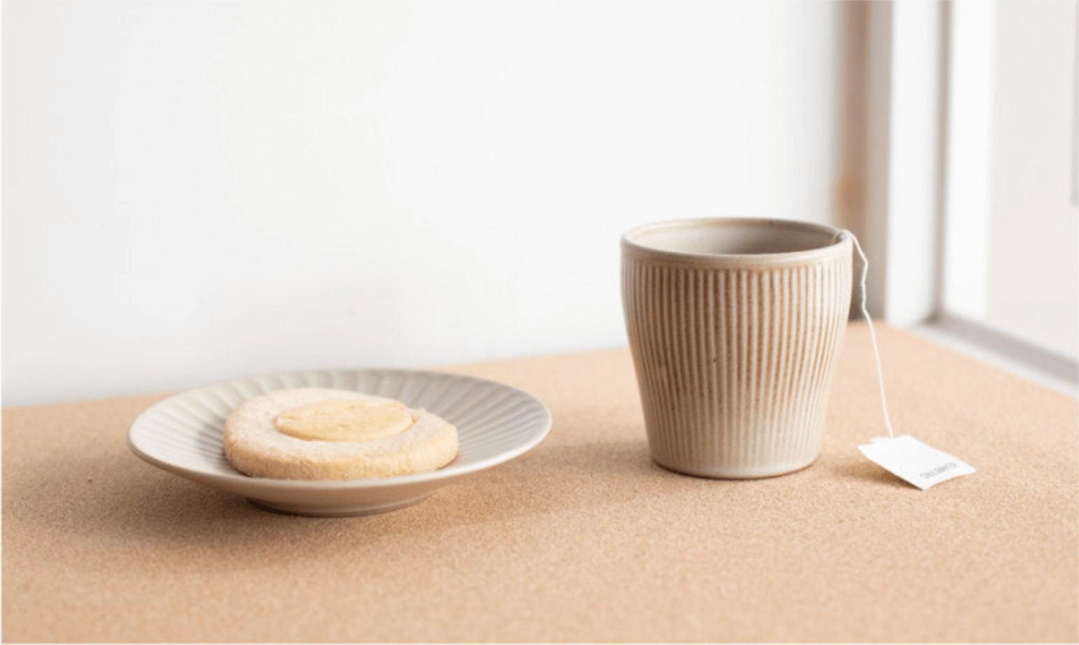 Onseo Ceramic Cup in Taupe, Oatmeal, Black and Navy 6