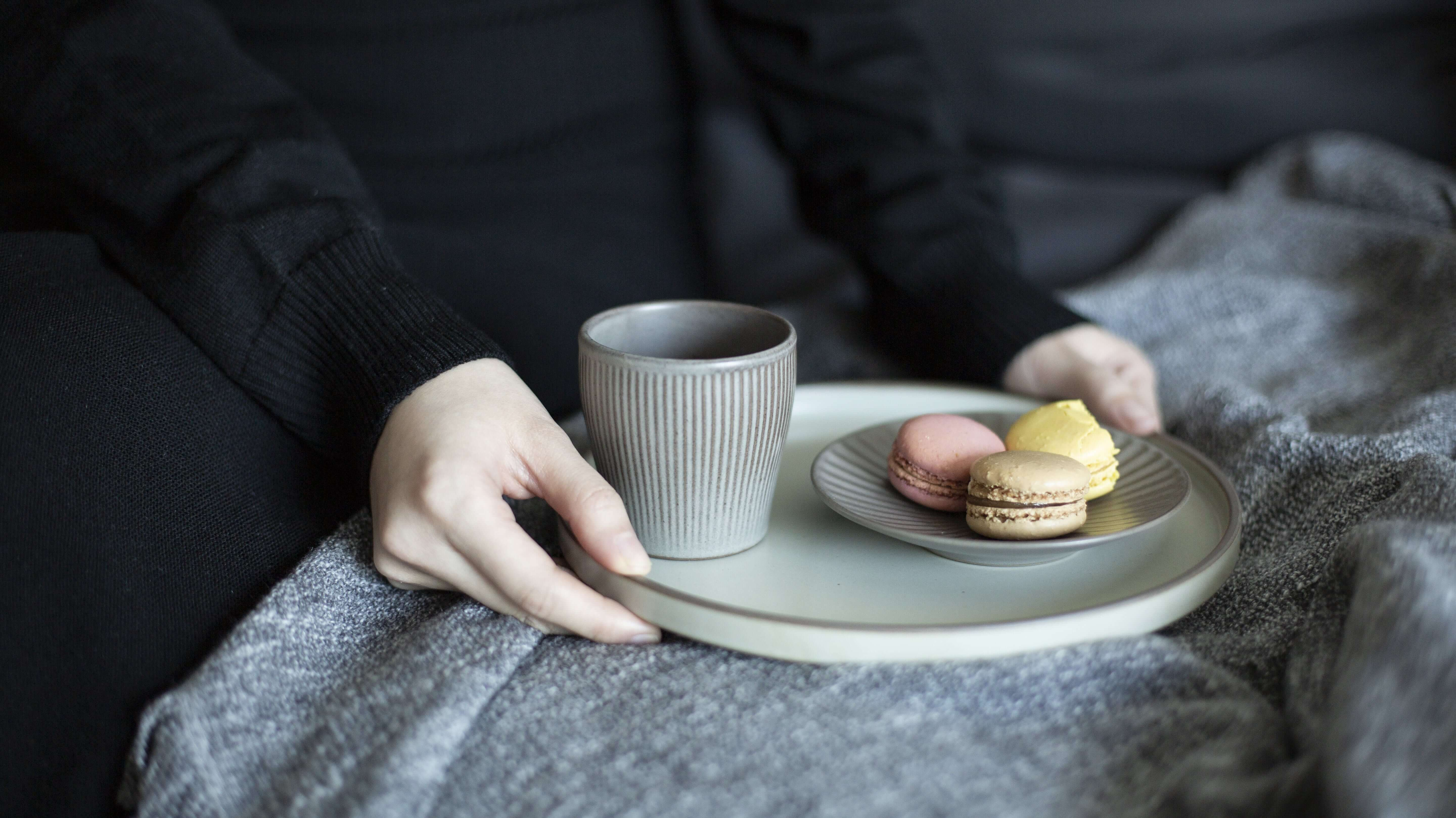 Onseo Ceramic Cup in Taupe, Oatmeal, Black and Navy