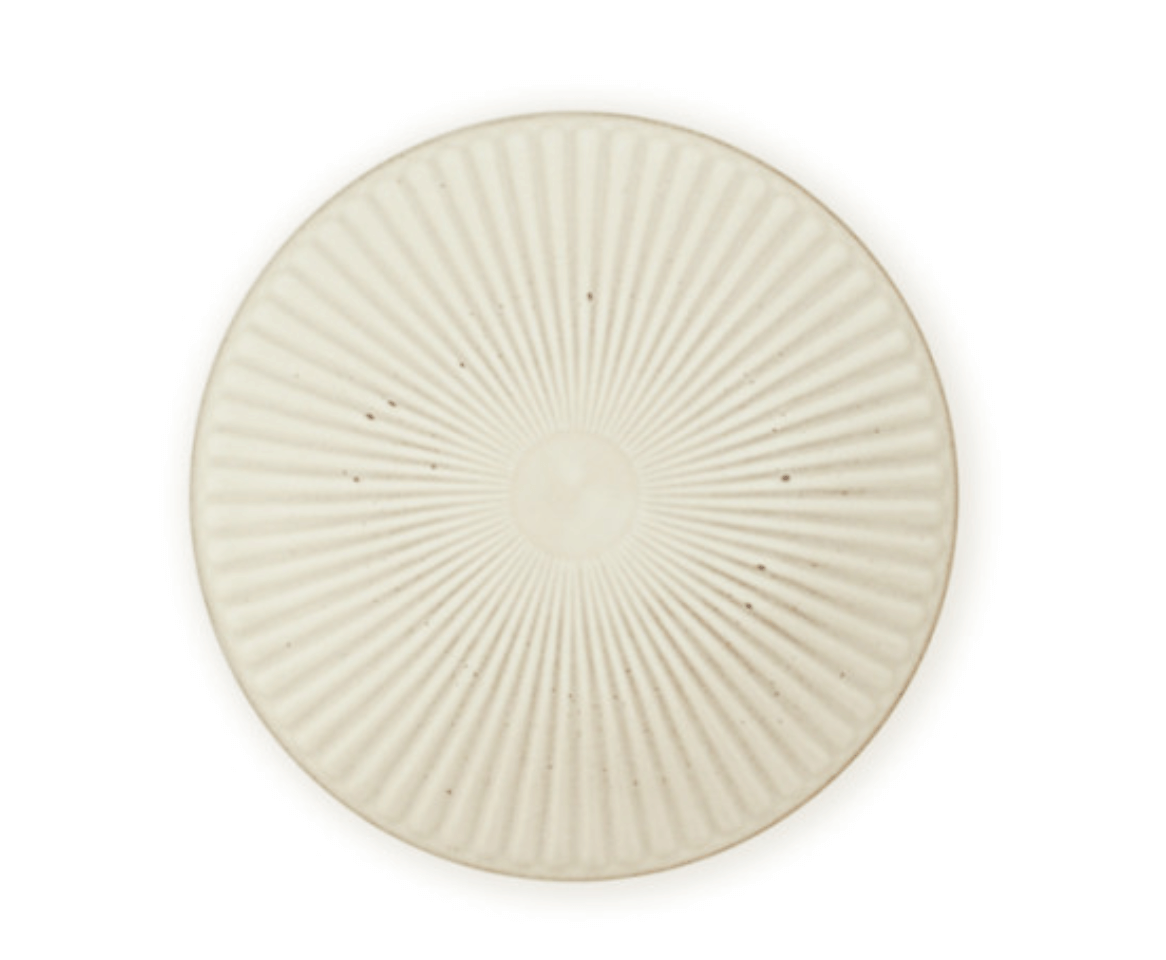 Korean Onseo ceramic plate in Oatmeal Colour
