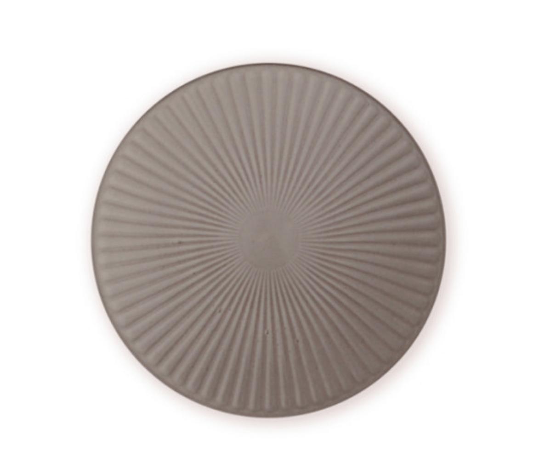 Handmade Ceramic Plates in Taupe colour