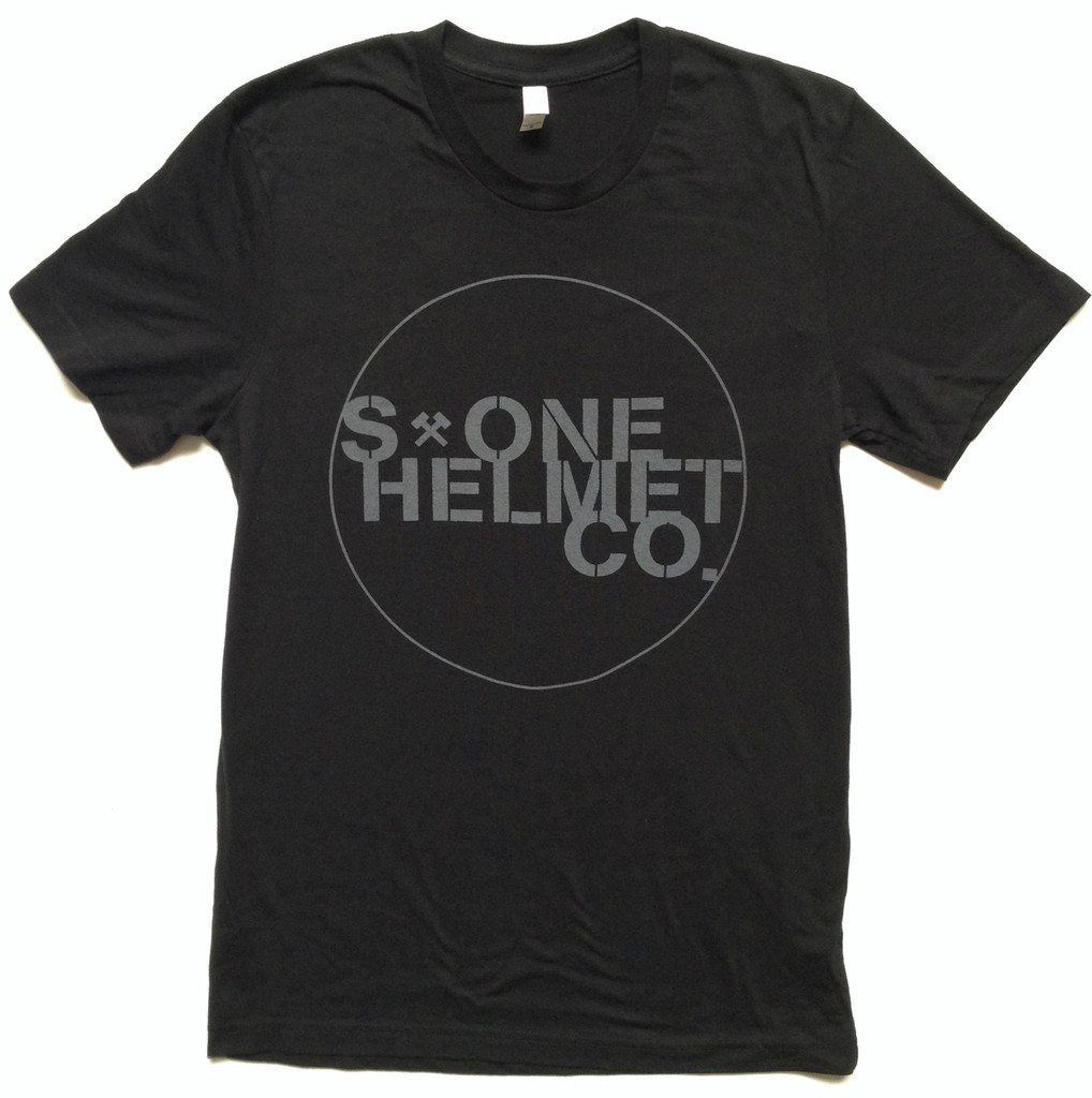 S-ONE Helmet Co. Seal Logo T-Shirt - Black