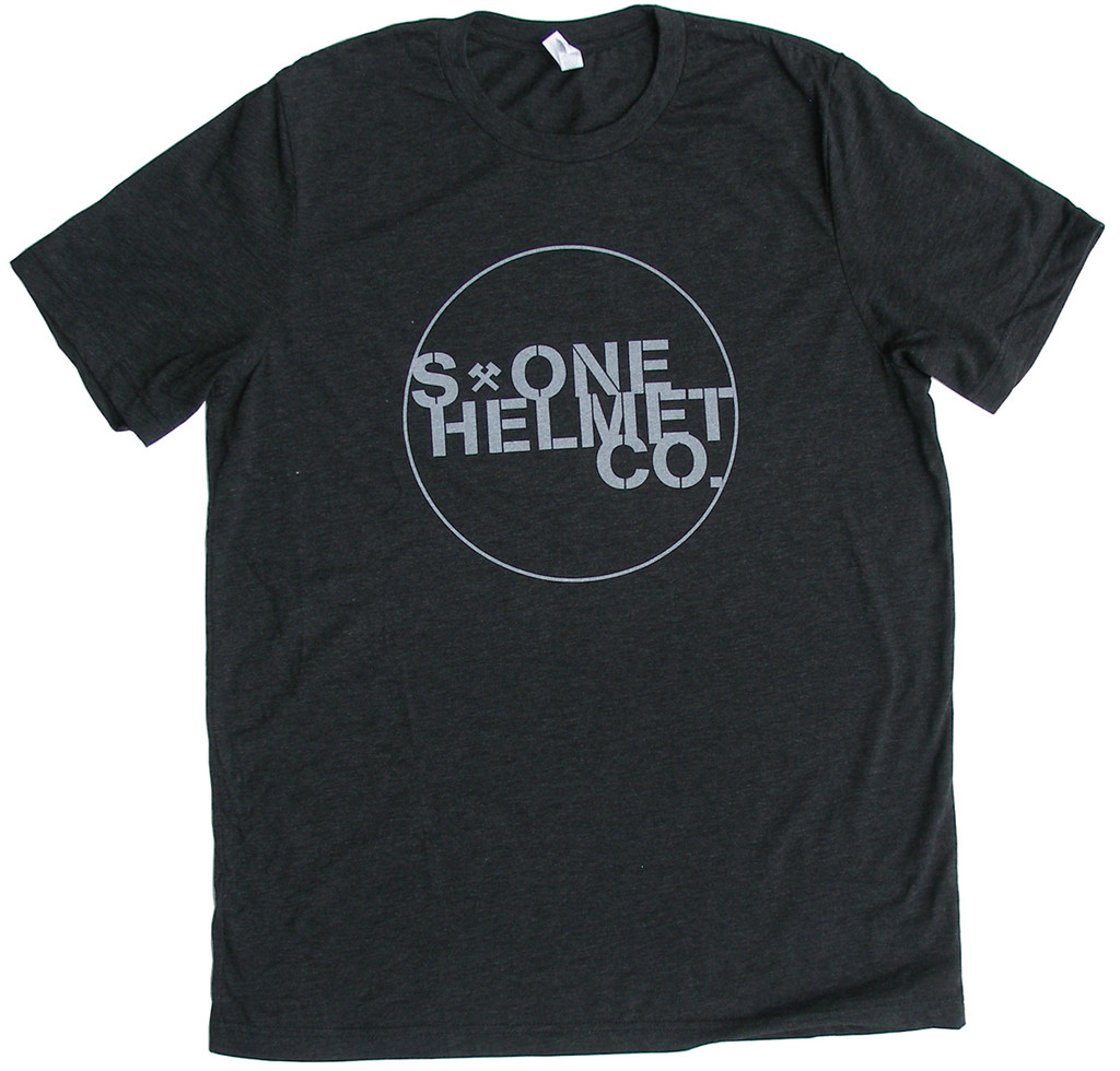 S1 Helmet Co. - Seal Logo T-Shirt - Charcoal Black Triblend