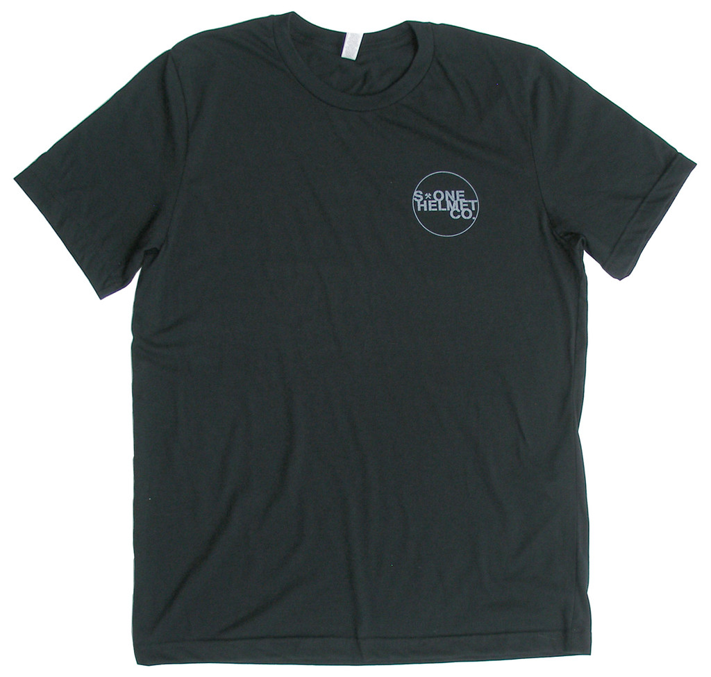 S1 Helmet Co. - Small Seal Logo T-Shirt - Black