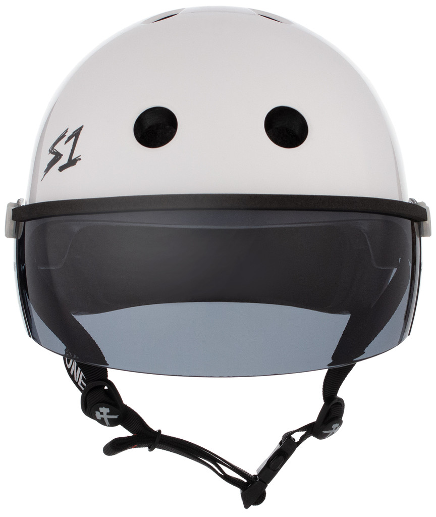 """The Lifer w/ Visor Gen 2's new In Mold Mounting System will allow you to take the Visor on and off and replace if needed featuring a Strap Rivet hole for a flush and secure  mount.  Our patented """"Cover Catcher"""" that will allow for multiple helmet covers to be easily put on and off without slipping up or flying off."""