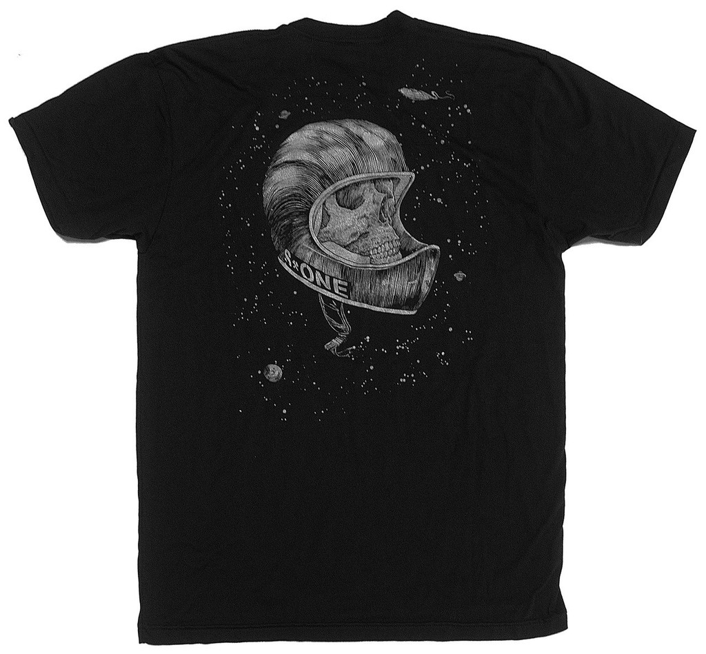 S1 Full Face In Space Short Sleeve Back Print