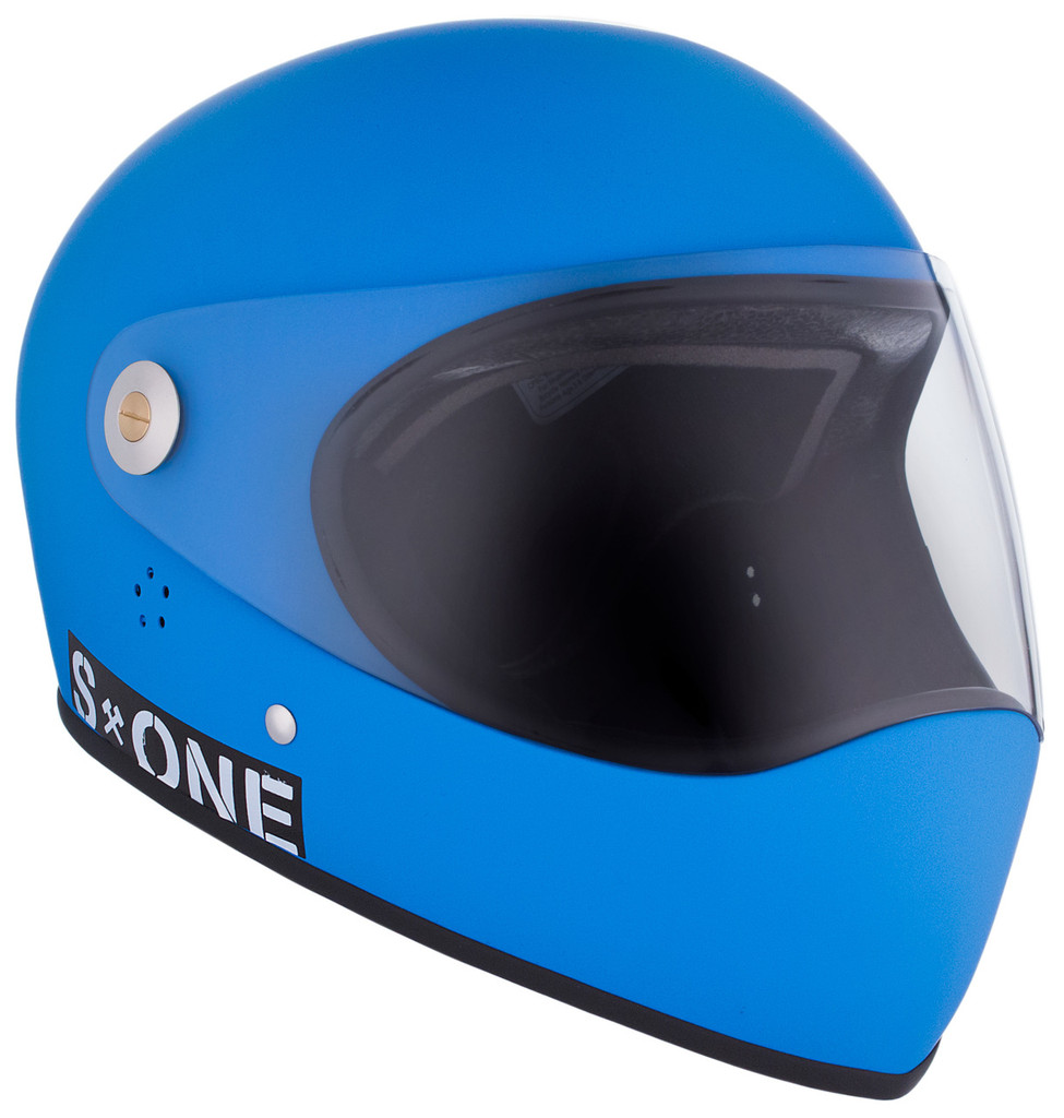 Cyan Matte W/ Clear Visor | S1 Lifer Full Face Helmet Specs: • Specially formulated EPS Fusion Foam • Certified Multi-Impact (ASTM) • Certified High Impact (CPSC) • 5x More Protective Than Regular Skate Helmets • Deep Fit Design