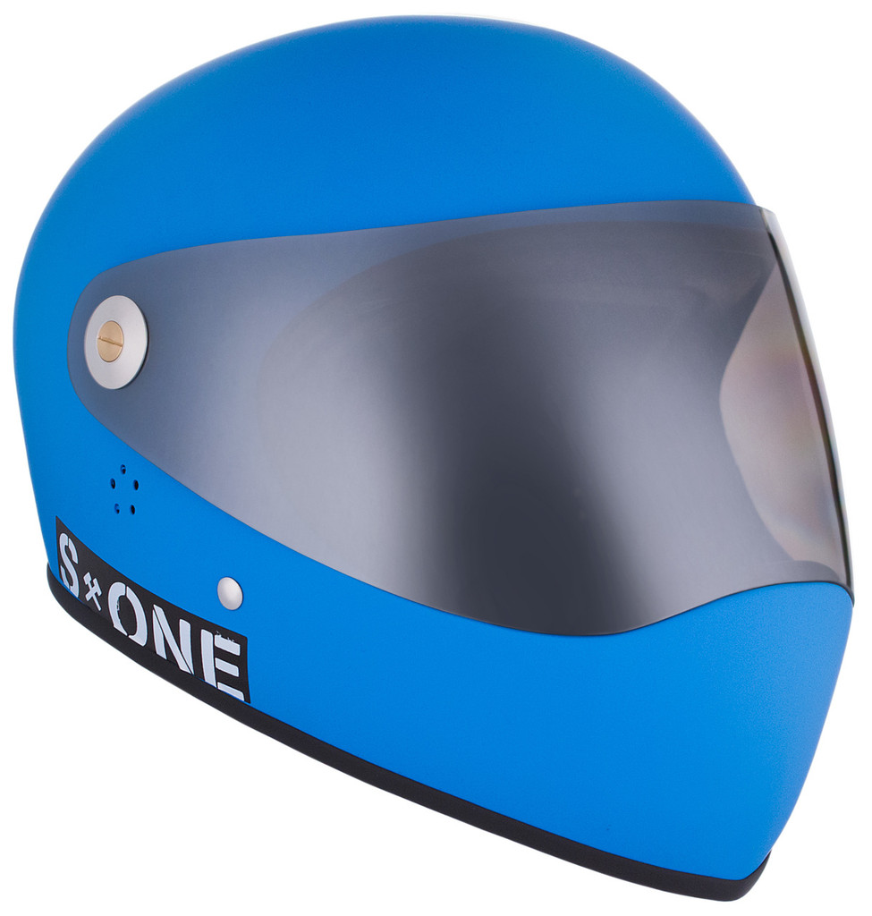 Cyan Matte W/ Mirror Visor | S1 Lifer Full Face Helmet Specs: • Specially formulated EPS Fusion Foam • Certified Multi-Impact (ASTM) • Certified High Impact (CPSC) • 5x More Protective Than Regular Skate Helmets • Deep Fit Design
